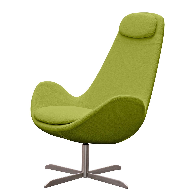 goedkoop Fauteuil Houston I geweven stof Roestvrij staal Stof Anda II Groen Studio Copenhagen