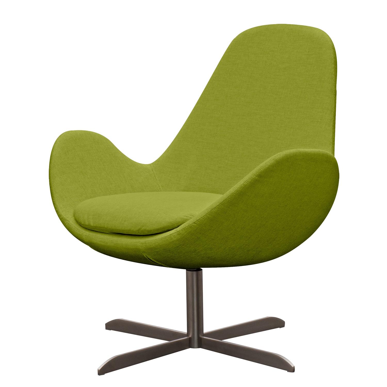 goedkoop Fauteuil Houston II geweven stof Roestvrij staal Stof Anda II Groen Studio Copenhagen