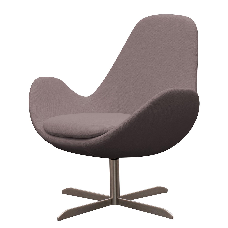 goedkoop Fauteuil Houston II geweven stof Roestvrij staal Stof Milan Grijs Marron Studio Copenhagen