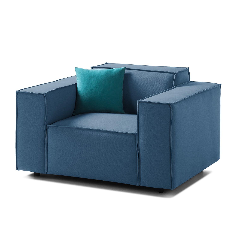 goedkoop Fauteuil Kinx geweven stof Stof Osta Donkerblauw Kinx