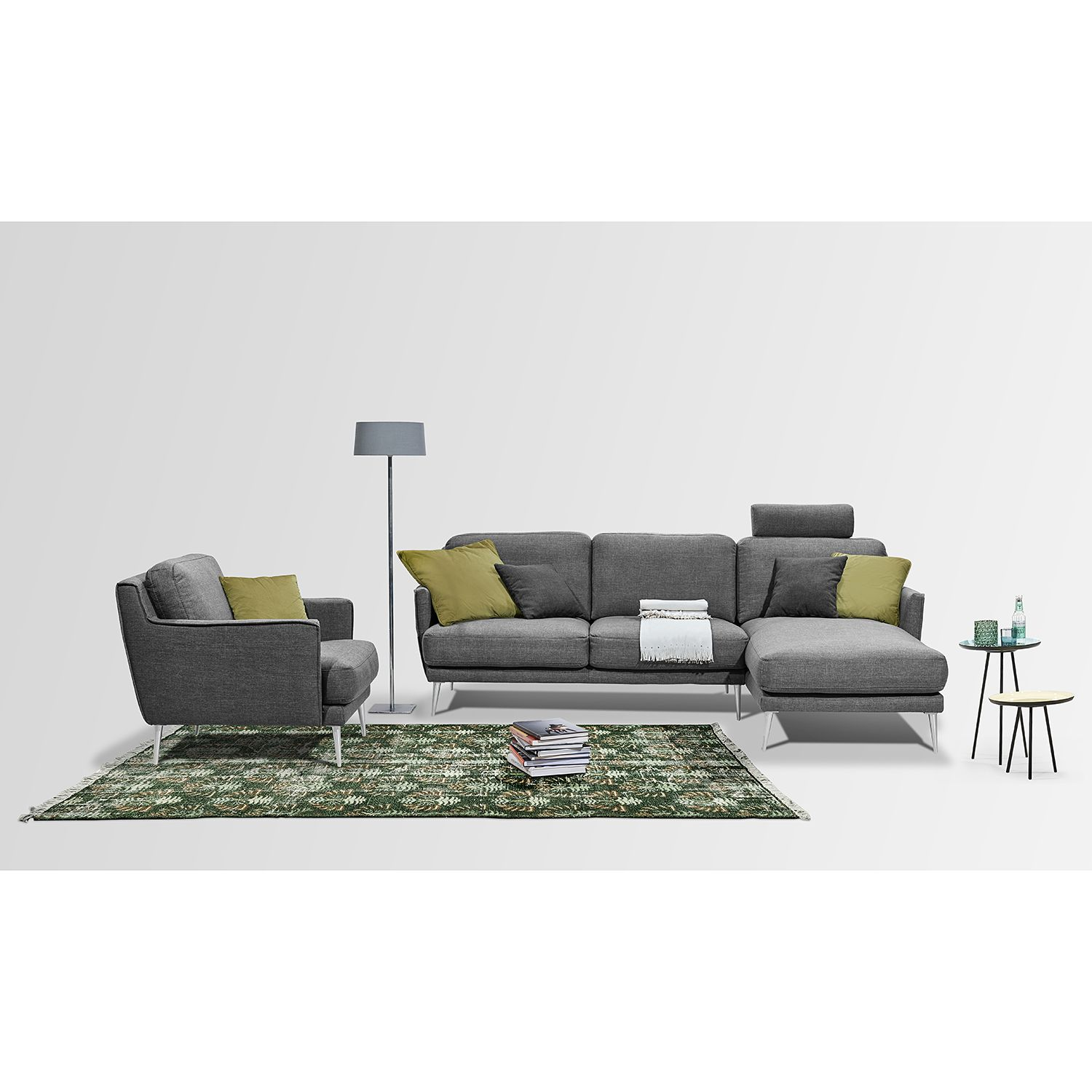 home24 Sessel Maylis Webstoff