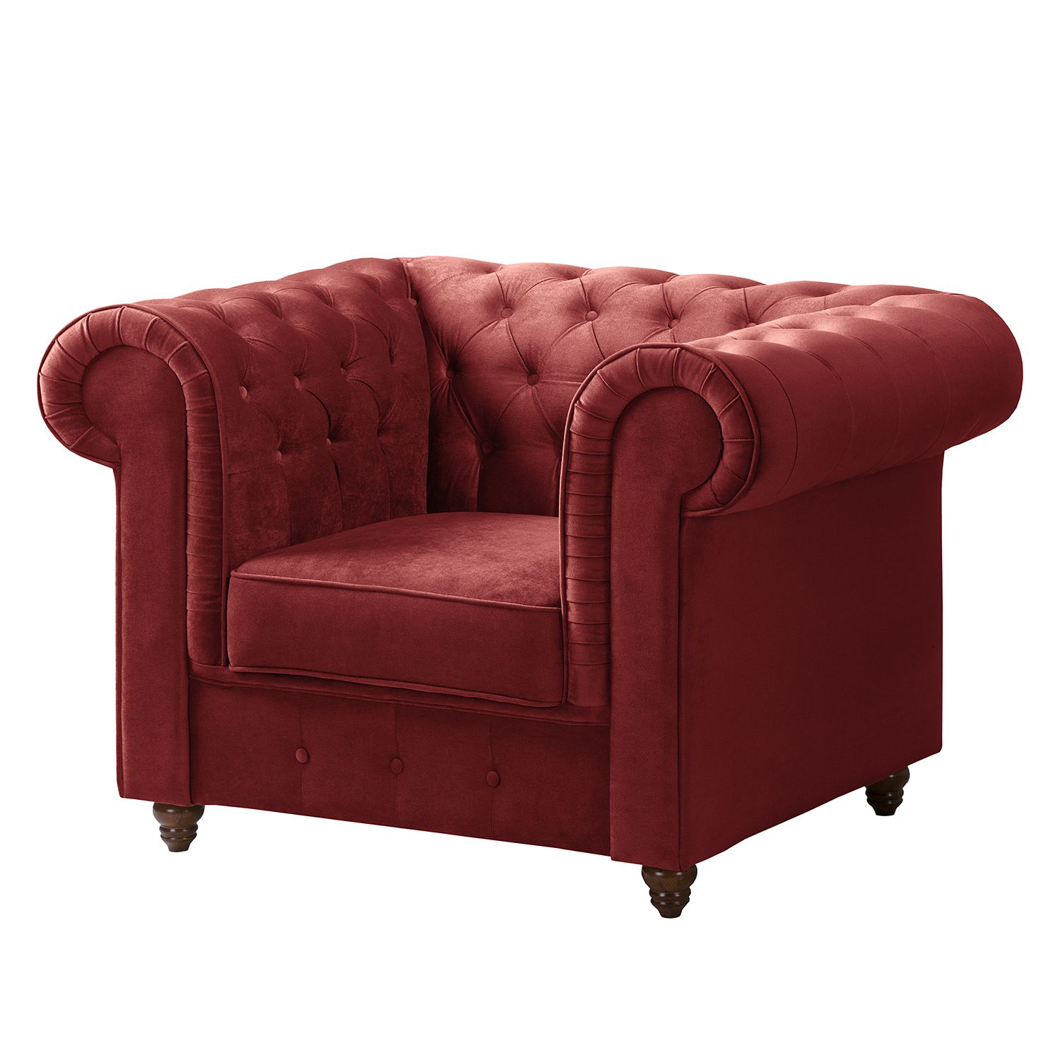 home24 Chesterfield Sessel Pintano | Wohnzimmer > Sessel > Chesterfield Sessel | Maison Belfort