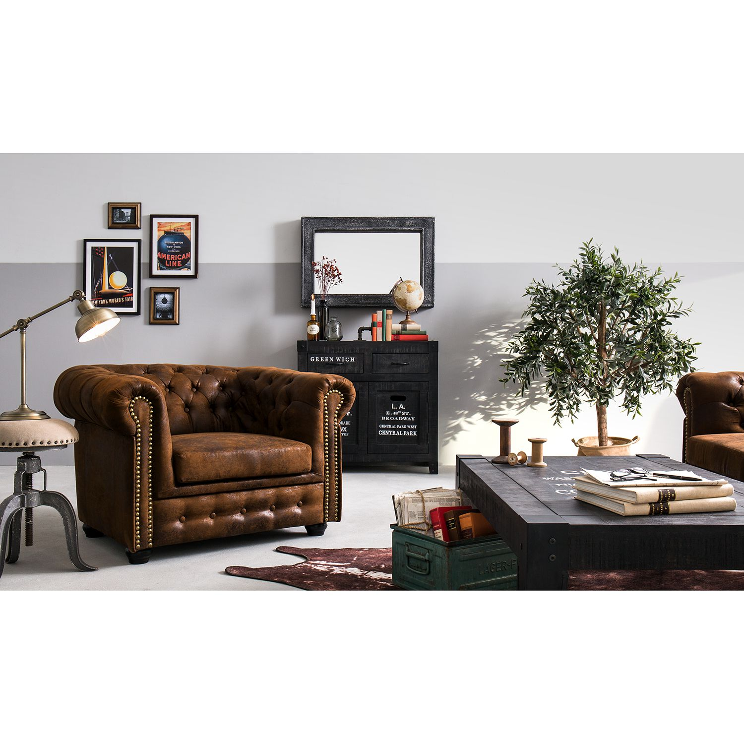 Home24 Fauteuil Torquay, ars manufacti
