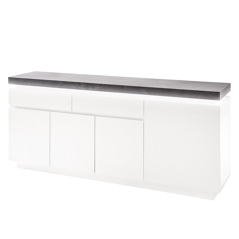 home24 Sideboard Namona II (inkl. Beleuchtung)