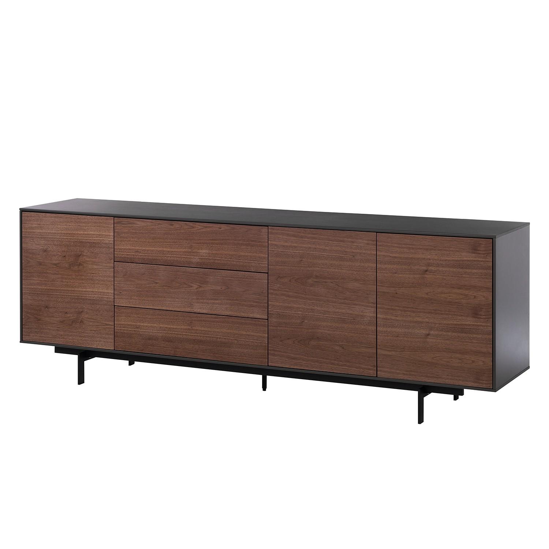 Sideboard payara walnuss schwarz 4372560