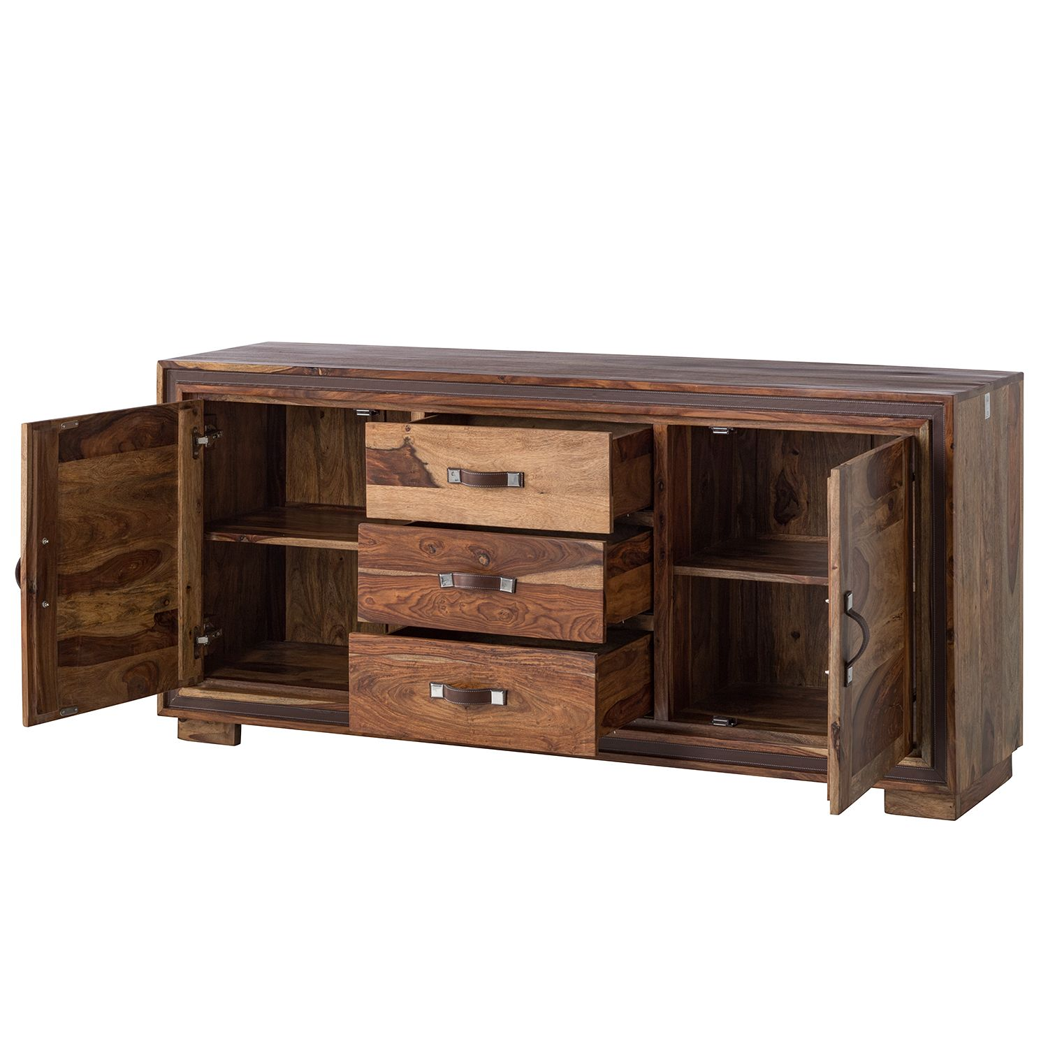 9 sparen sideboard shan ii von wolf m bel nur 679 99 cherry m bel home24. Black Bedroom Furniture Sets. Home Design Ideas