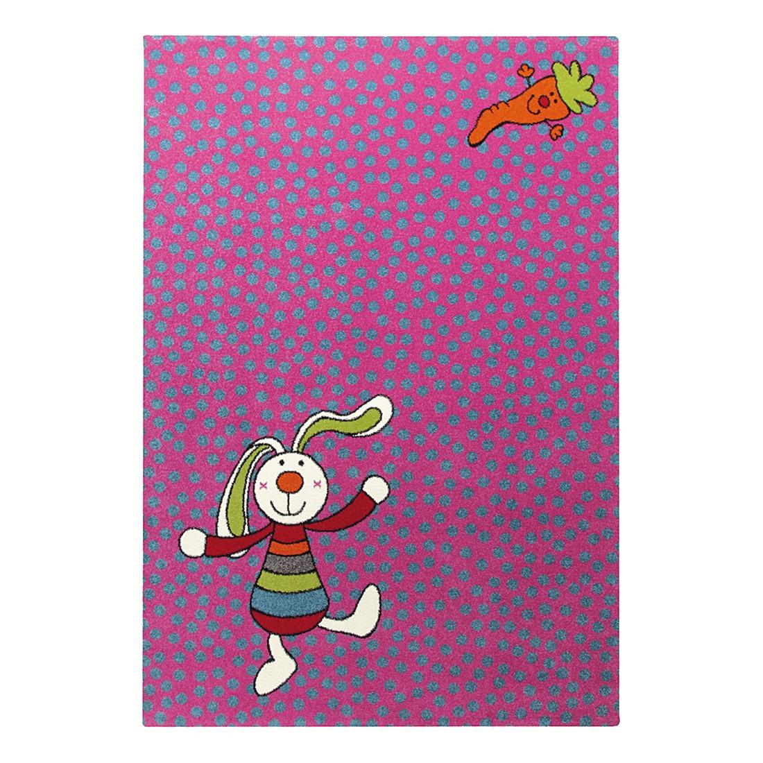 home24 Kinderteppich Rainbow Rabbit | Kinderzimmer > Textilien für Kinder | Pink | Textil | Sigikid