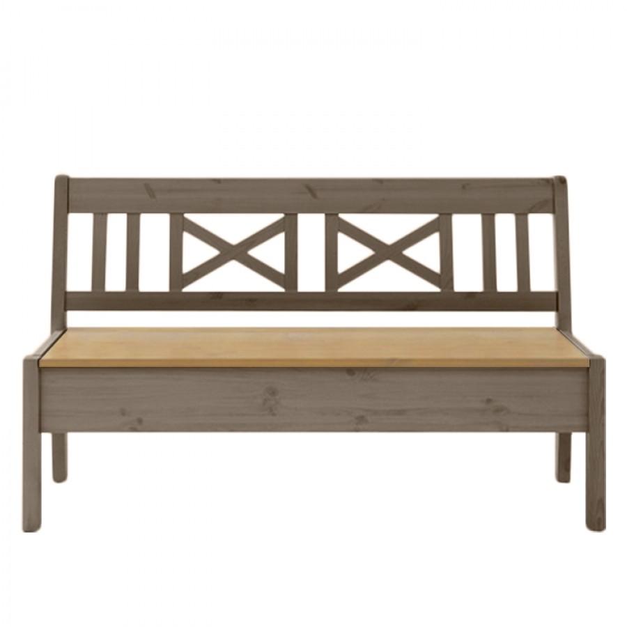 home24 Sitzbank Fjord I | Küche und Esszimmer > Sitzbänke > Einfache Sitzbänke | Braun | Massivholz - Holz | Maison Belfort