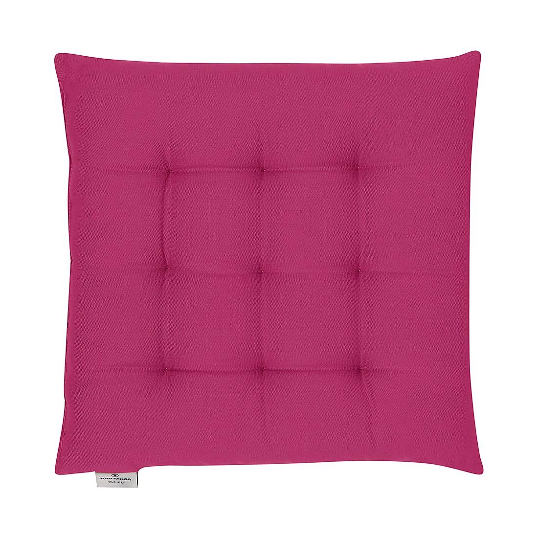 home24 Sitzkissen T-Dove in pink 40x40cm