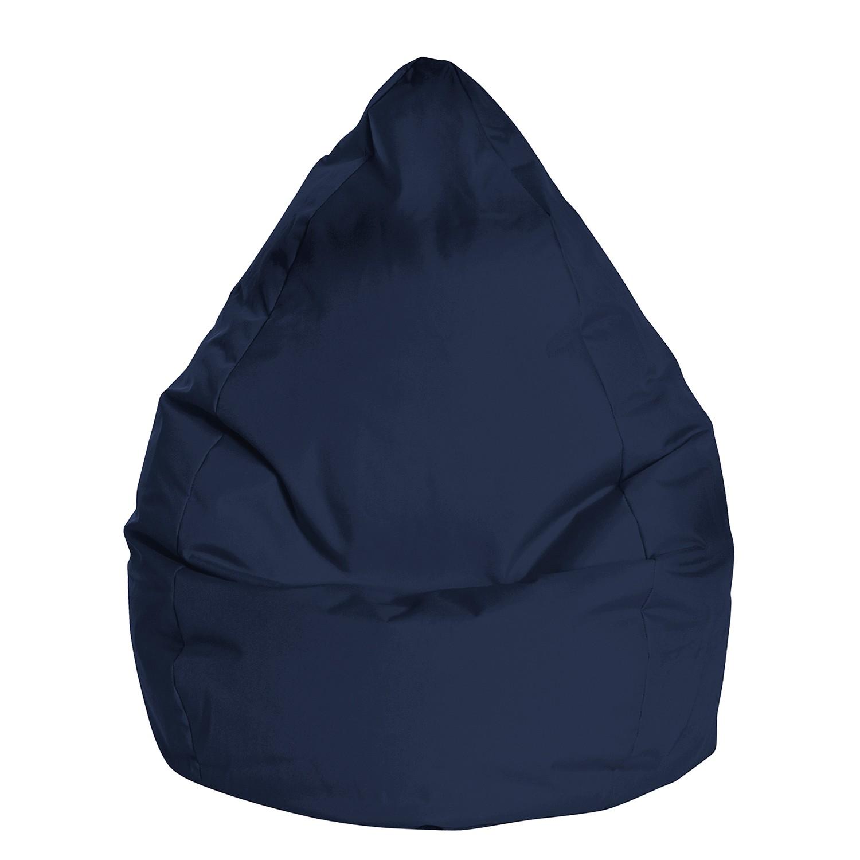 Sitzsack Bean Bag Brava - XL - Flachgewebe - Jeansblau, SITTING POINT