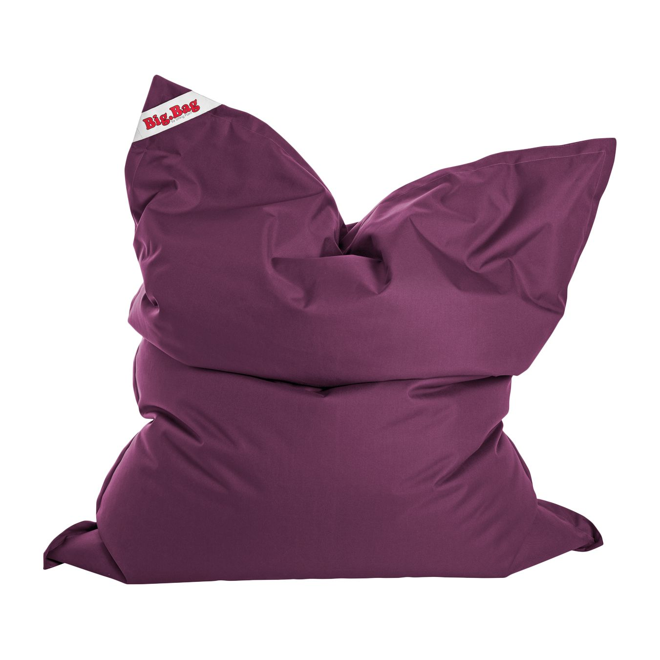 Sitzsack Big Bag Brava - Flachgewebe - Lipstick Pink, SITTING POINT