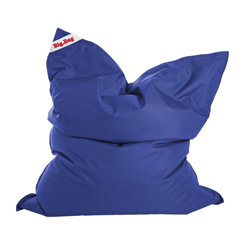 Sitzsack Big Bag Brava - Flachgewebe - Meerblau, SITTING POINT