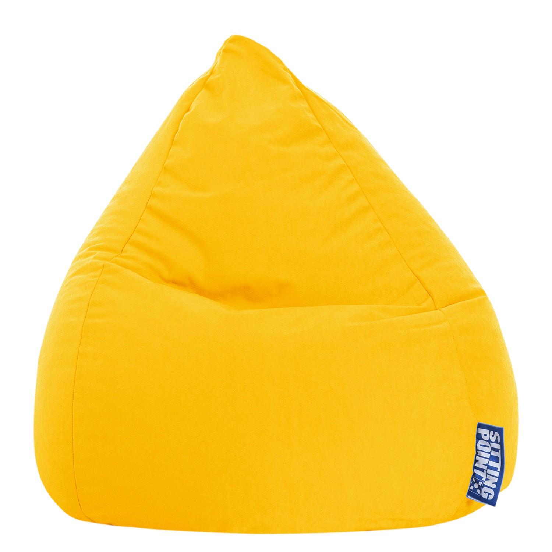 goedkoop Zitzak Easy L geel Geel SITTING POINT