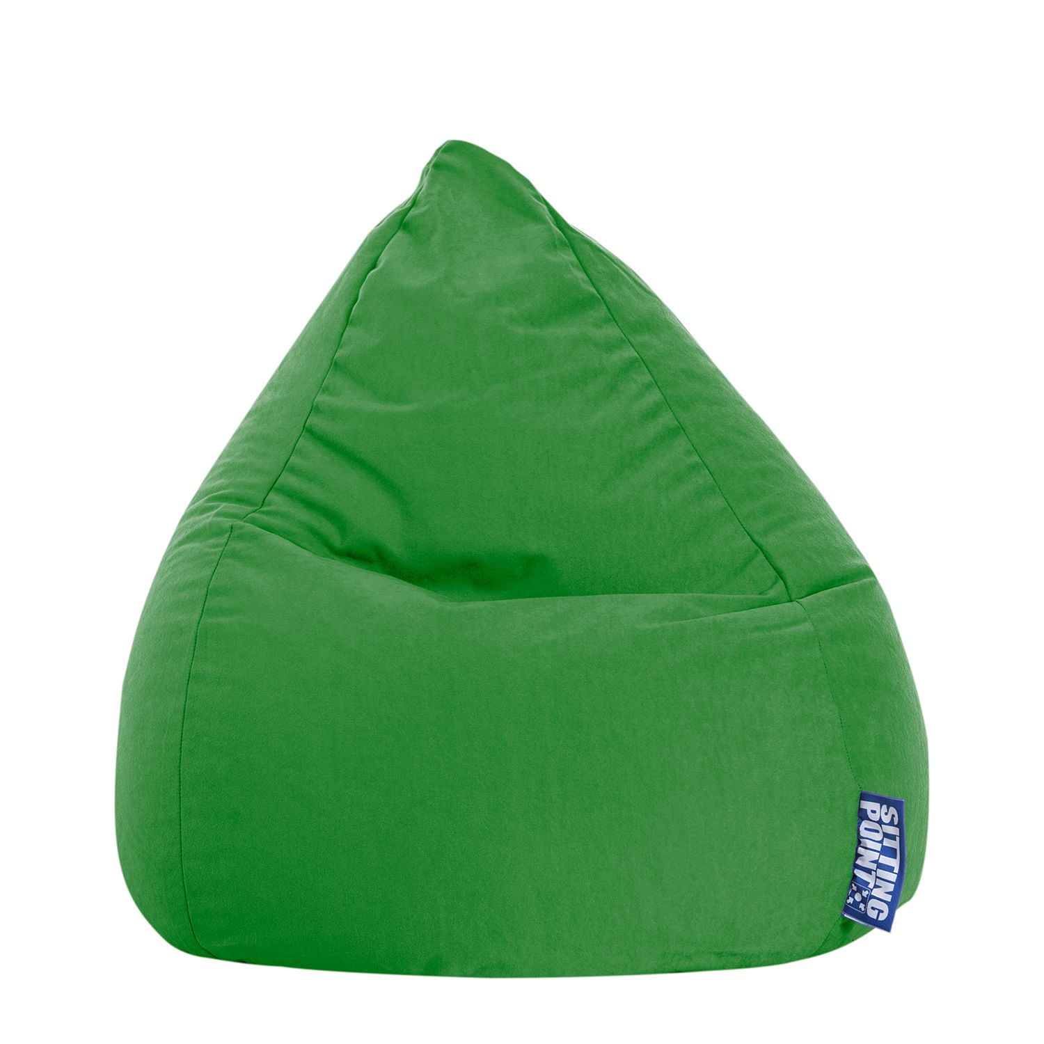 Sitzsack Easy L - Microfaser - Grün, SITTING POINT
