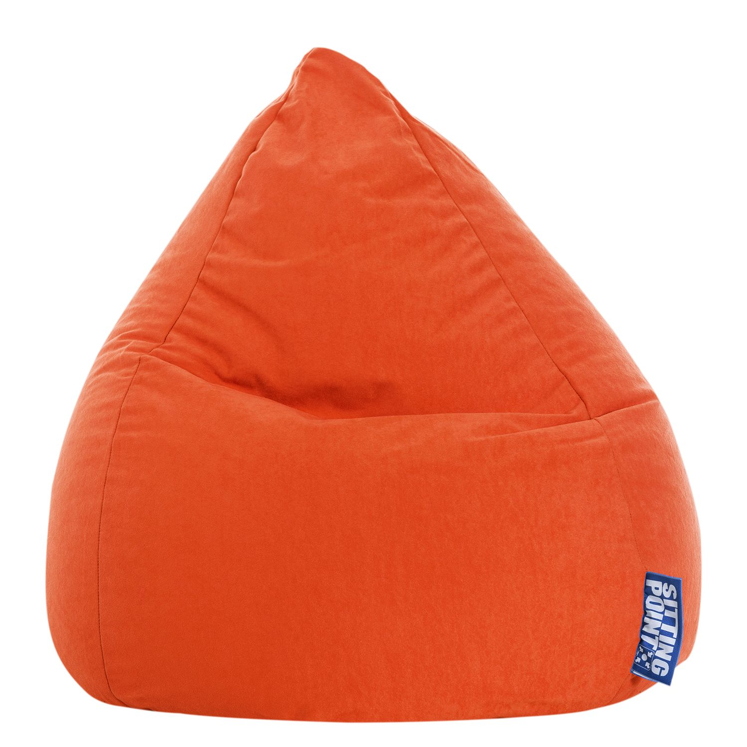 goedkoop Zitzak Easy L geel Oranje SITTING POINT