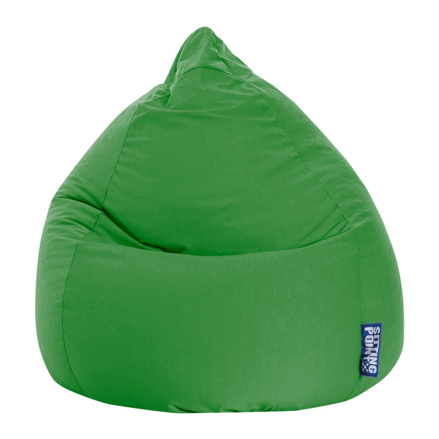 Sitzsack Easy XL - Microfaser - Grün, SITTING POINT