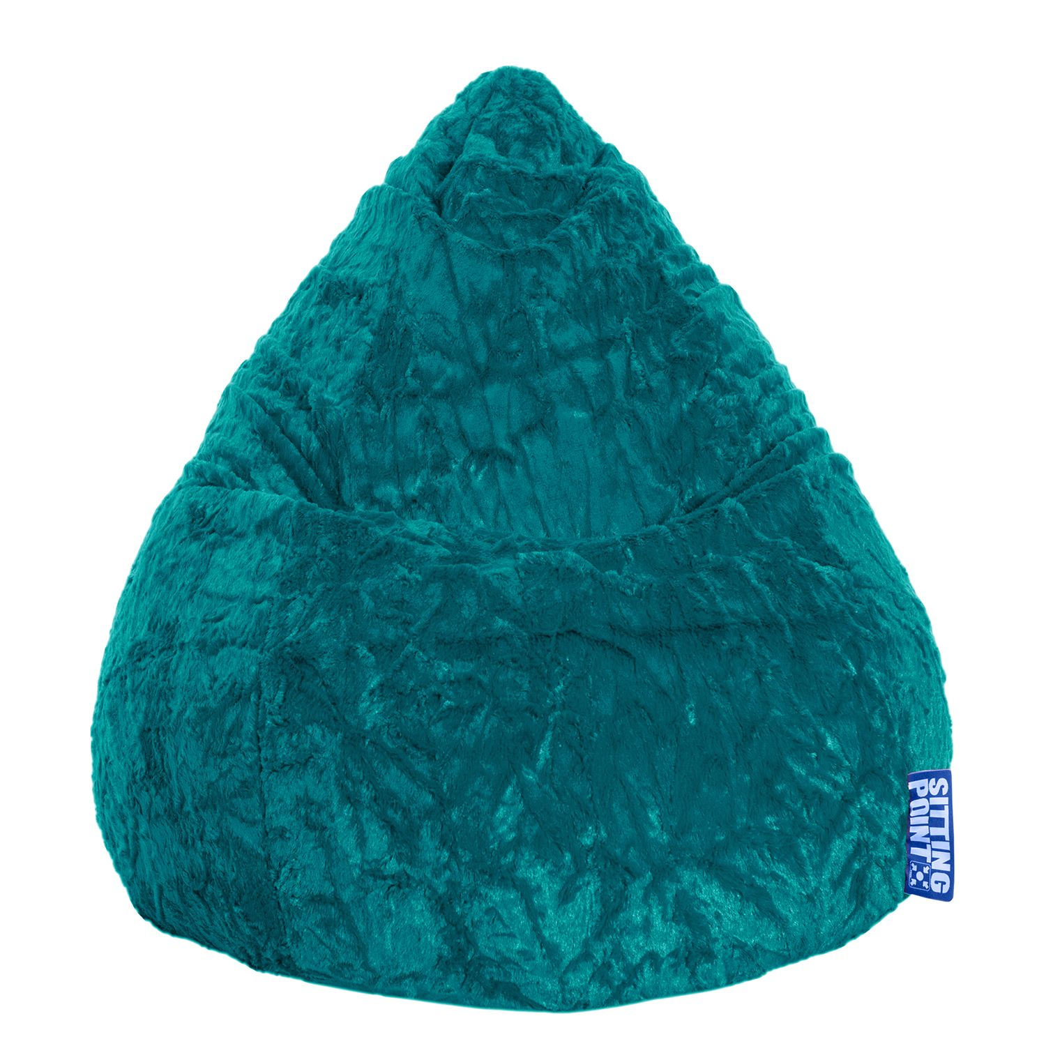 goedkoop Zitzak Fluffy XL blauw Smaragdgroen SITTING POINT