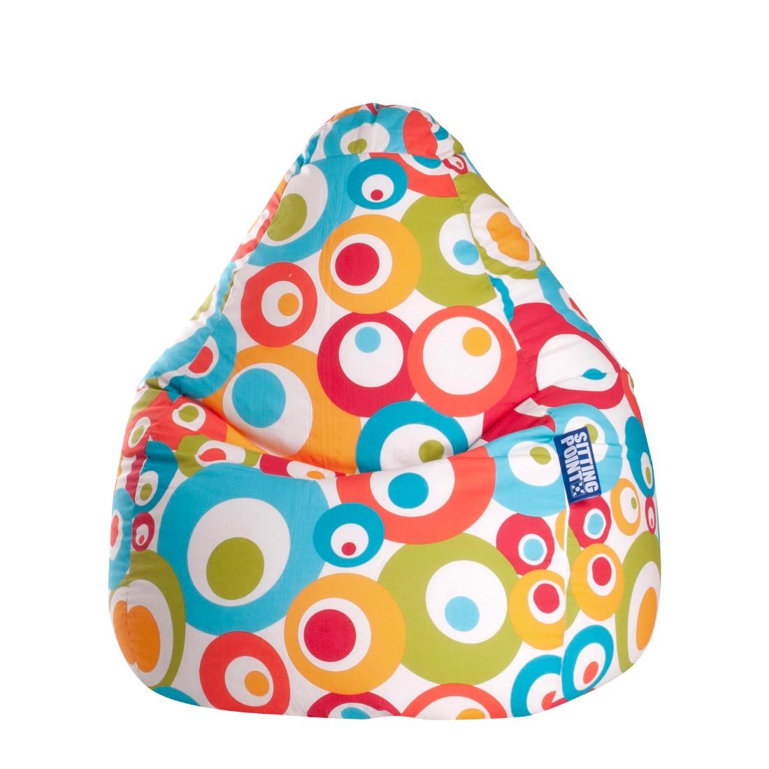 goedkoop Zitzak Malibu XL geweven stof Meerkleurig SITTING POINT