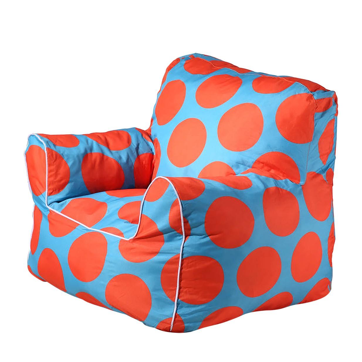 Kindersitzsack Lena Mini | Wohnzimmer > Sessel > Sitzsaecke | Blau | Textil | Kayoom