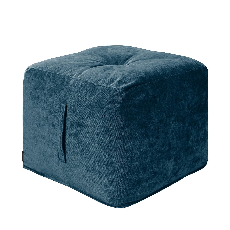 Sitzwürfel Piton Samt