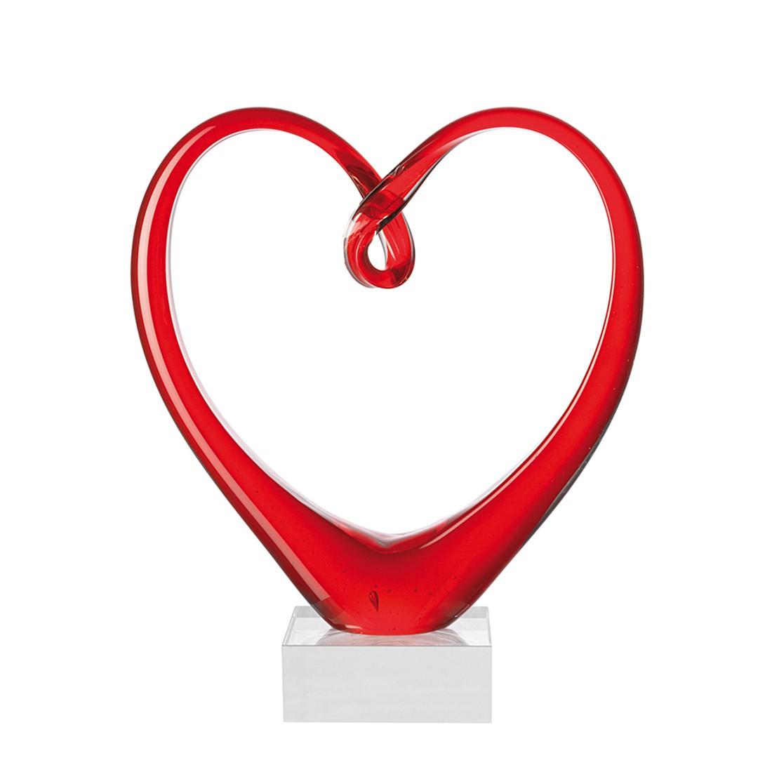 Skulptur Heart, Leonardo