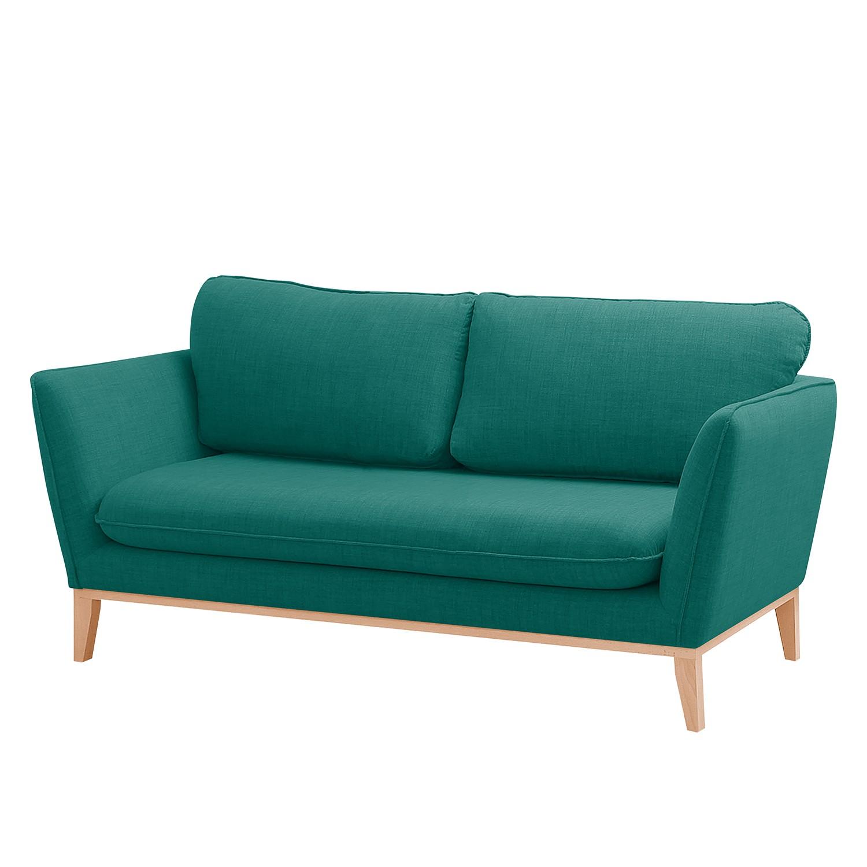 Sofa Argoon (2-Sitzer) Webstoff - Petrol