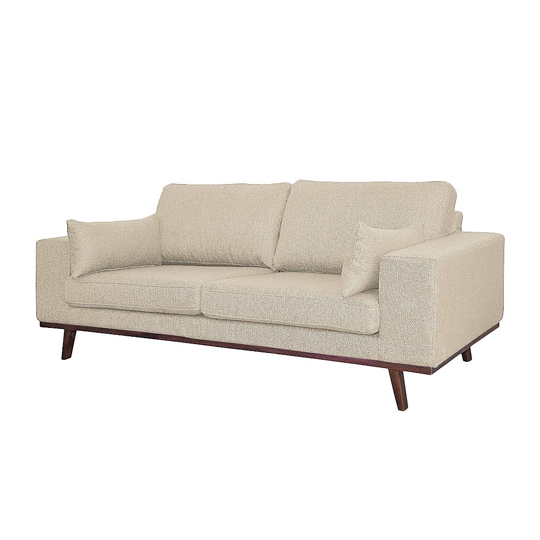 home24 Sofa Billund I (2-Sitzer) Strukturstoff