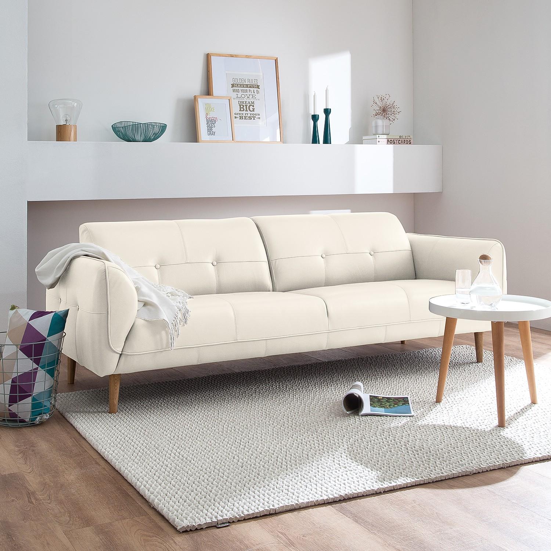 Canapé Cala (3 places) cuir véritable