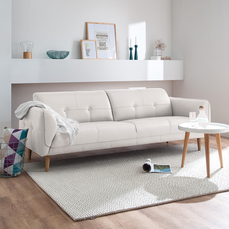 home24 Sofa Cala (3-Sitzer) Echtleder