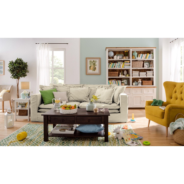 home24 Sofa Coral Beach (3-Sitzer) Webstoff