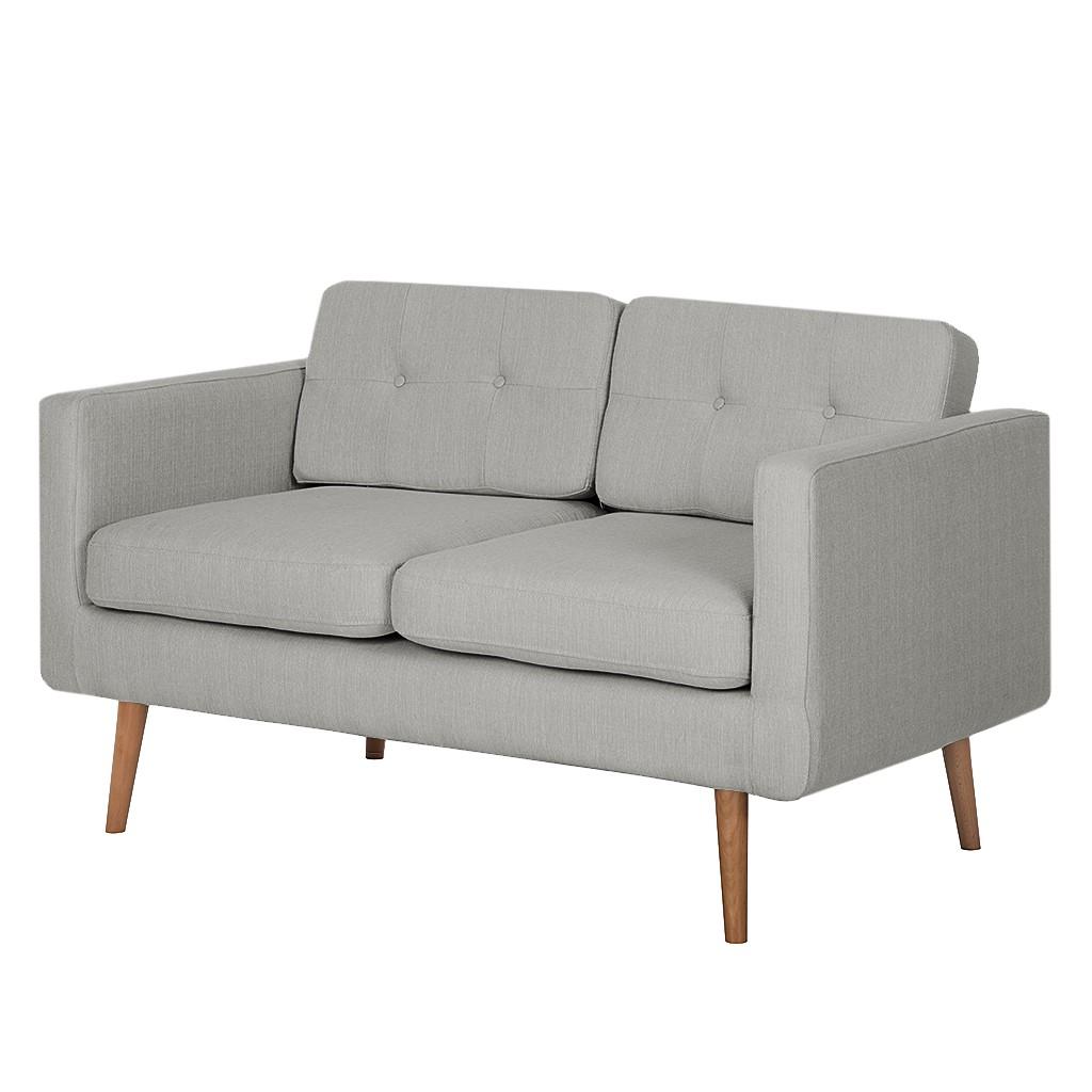 Canapé Croom (2 places) - Textile - Gris, Morteens