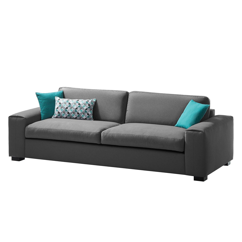 Sofa Glasco (2,5-Sitzer) Webstoff - Stoff Osta Anthrazit