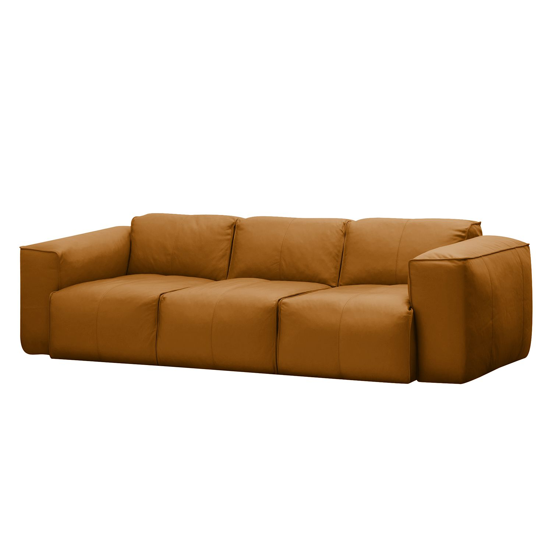 Sofa Hudson I (3-Sitzer) Echtleder