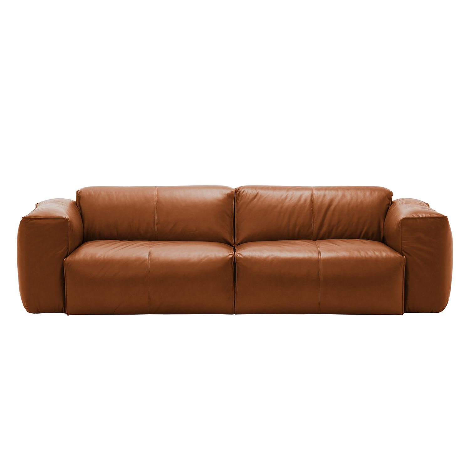 Sofa Hudson Ii 3 Sitzer Echtleder Fashion For Home