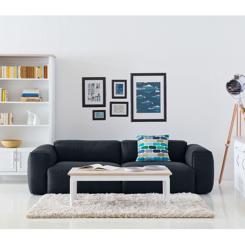 home24 Sofa Hudson II (3-Sitzer) Webstoff