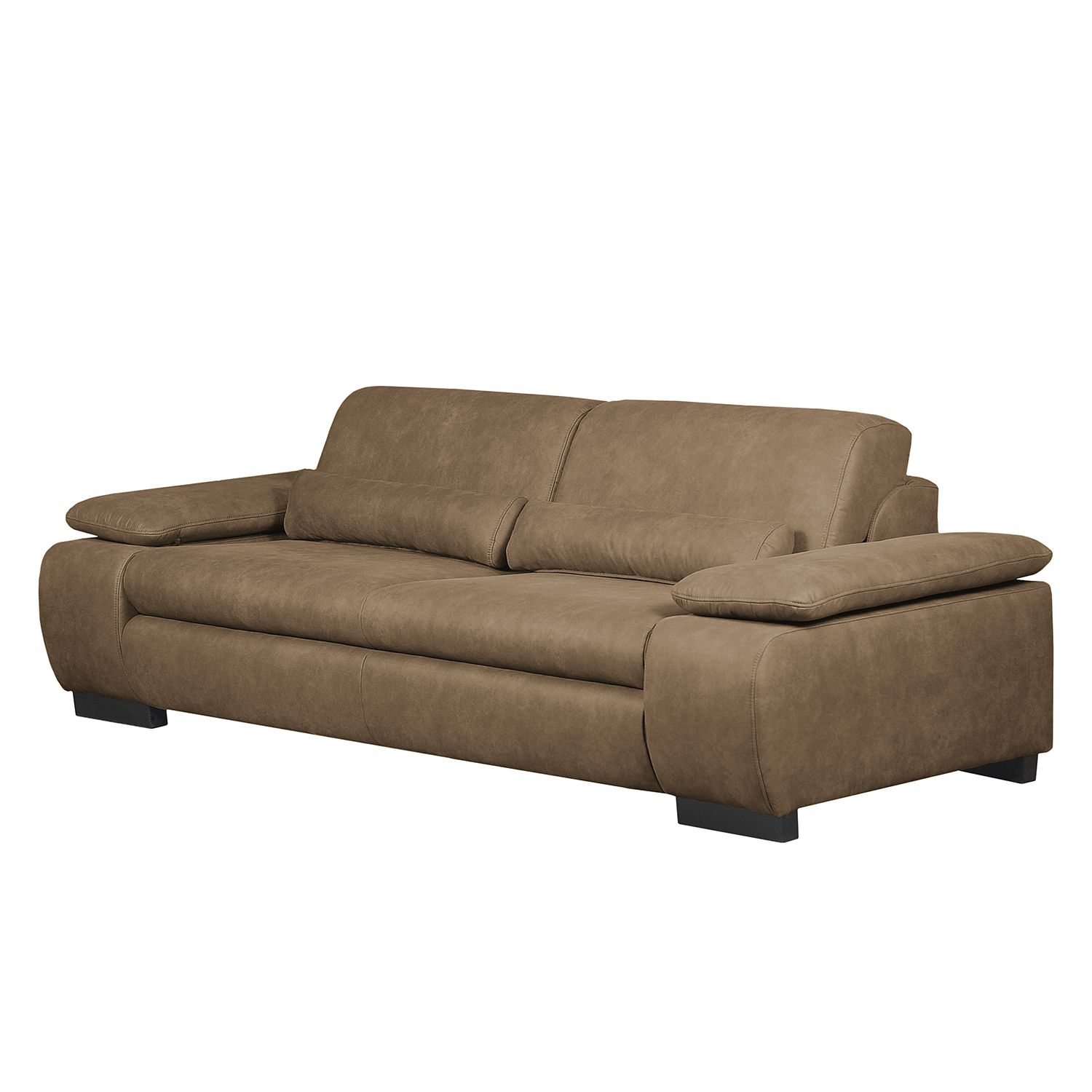 home24 Sofa Infinity (3-Sitzer) Antiklederlook
