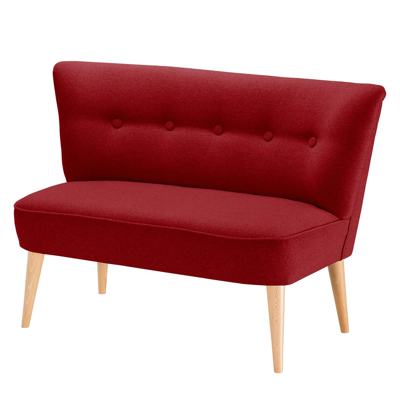 Sofa Bumberry (2-Sitzer) Filz - Rot