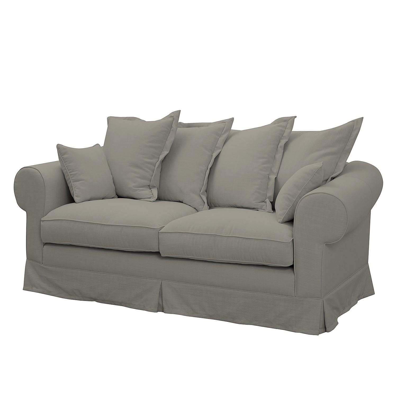 Sofa Saltum (2,5-Sitzer) Webstoff - Matt Sandgrau