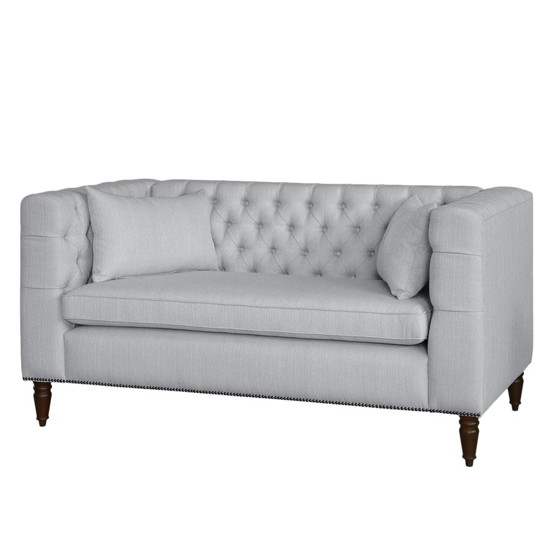 home24 Sofa Sherbrooke (2-Sitzer) Strukturstoff | Wohnzimmer | Grau | Maison Belfort