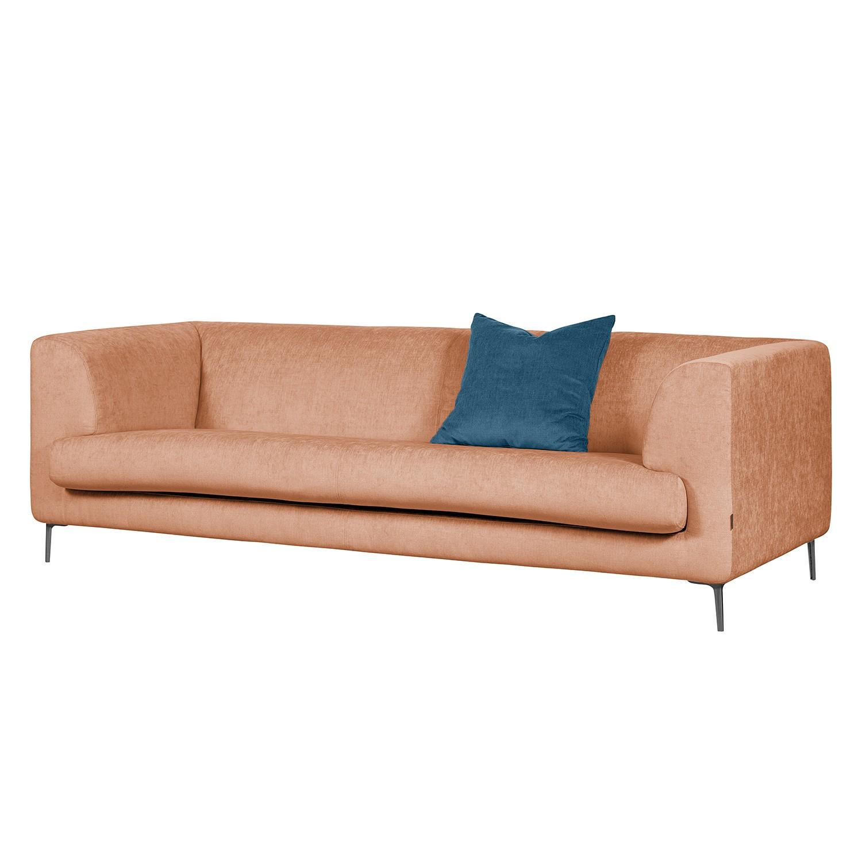 Sofa Sombret (3-Sitzer) Webstoff - Lachs