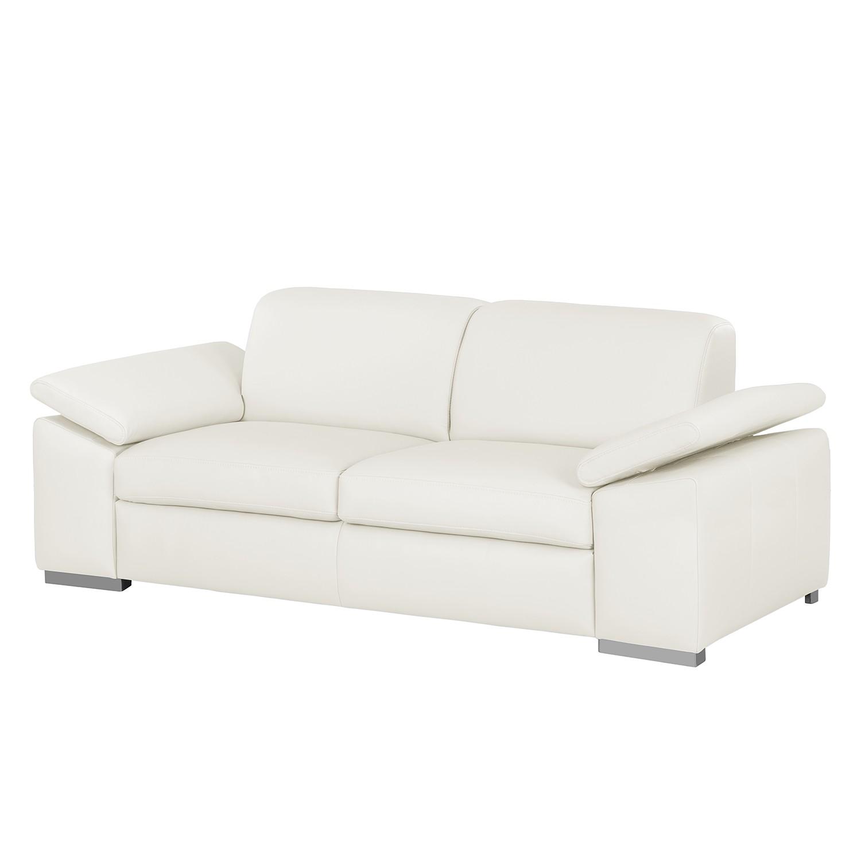 home24 Sofa Termon III (2-Sitzer) Echtleder