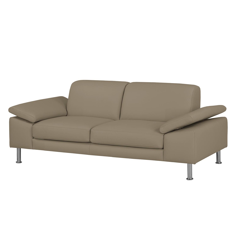 Fredriks Sofa Termon IV 2-Sitzer Taupe Echtleder 204x82x90 cm