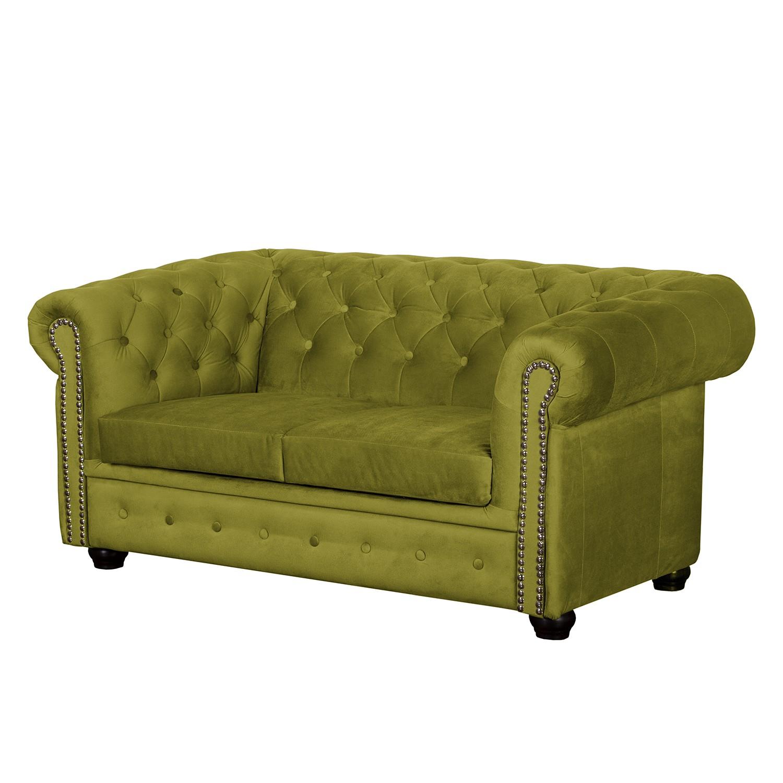 goedkoop Bank Torquay II 2zitsbank microvezel Pistache groen Jack and Alice