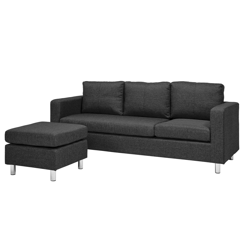 Canapé Wyke (3 places avec repose-pieds)
