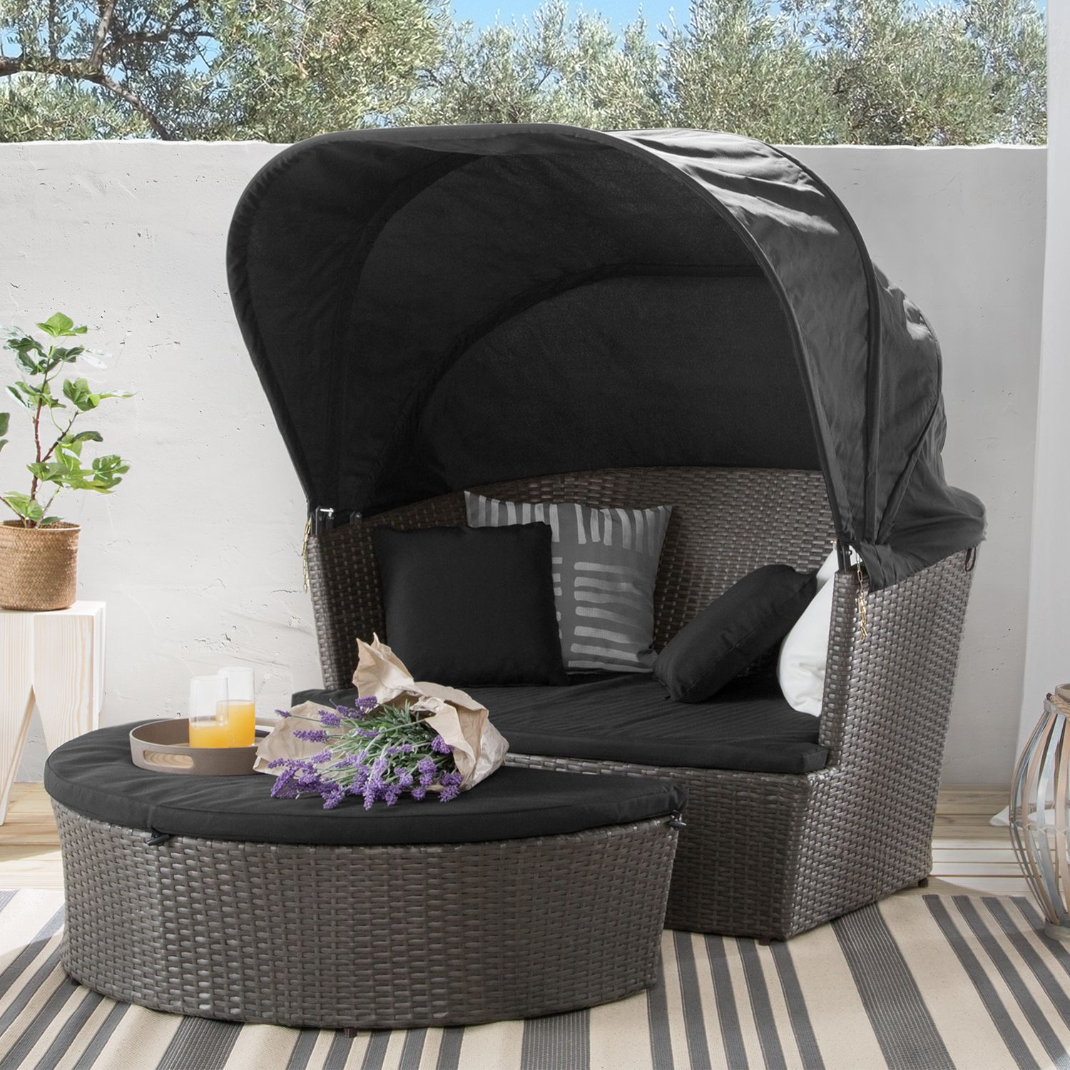 Salon de jardin modulable Neapel