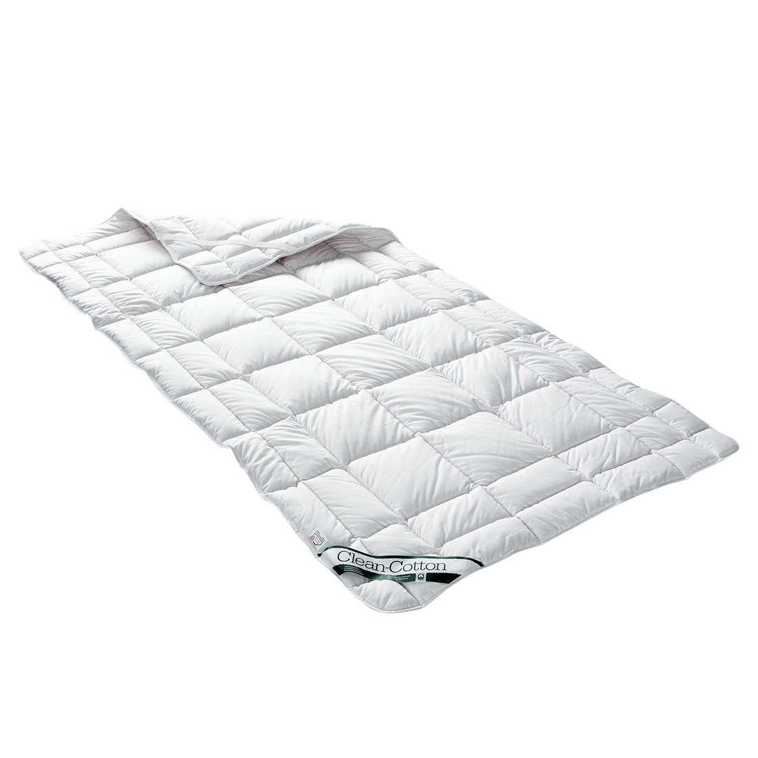 Spannauflage Clean Cotton - Baumwollfüllung - 80 x 200 cm, Badenia