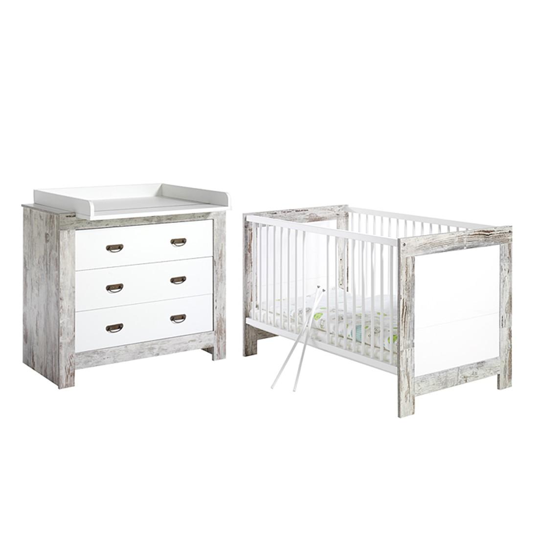 Babyzimmer-Set Nordic- Shabby Chic