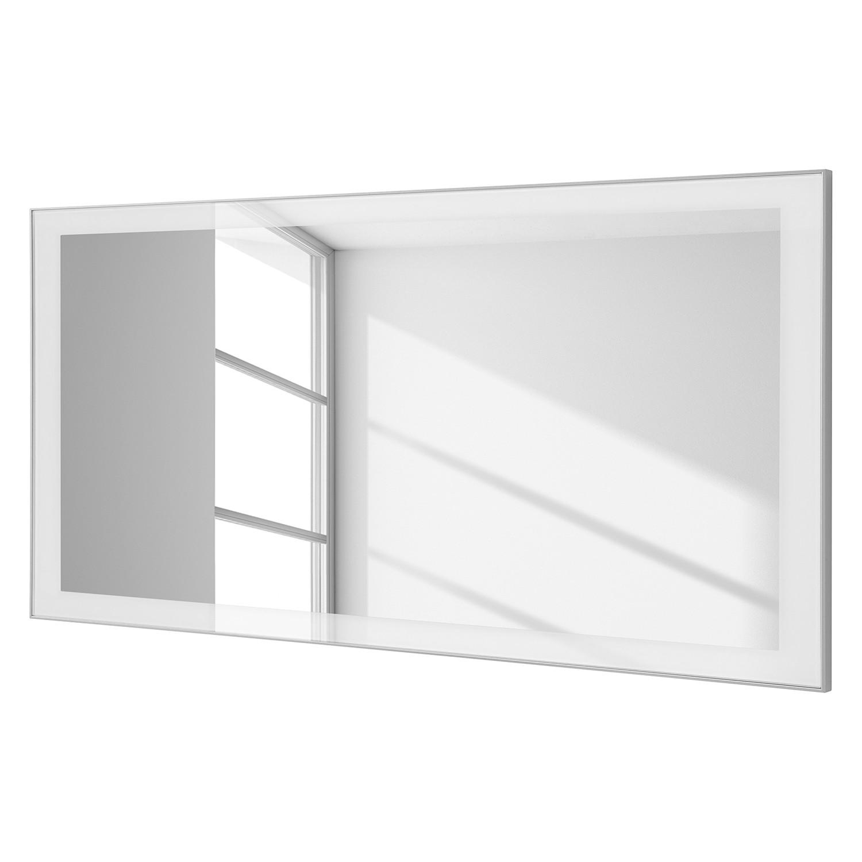 Miroir alavere 60 blanc 120 cm voss pompier pertuis for Miroir rectangulaire 120 cm