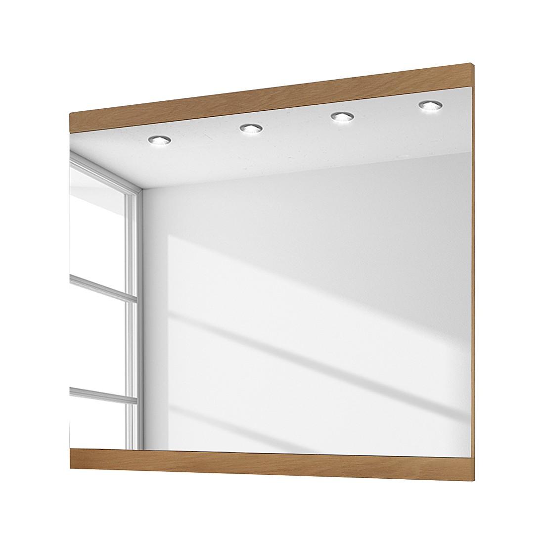 home24 Spiegel Allround II | Flur & Diele | Braun | Glas | Voss