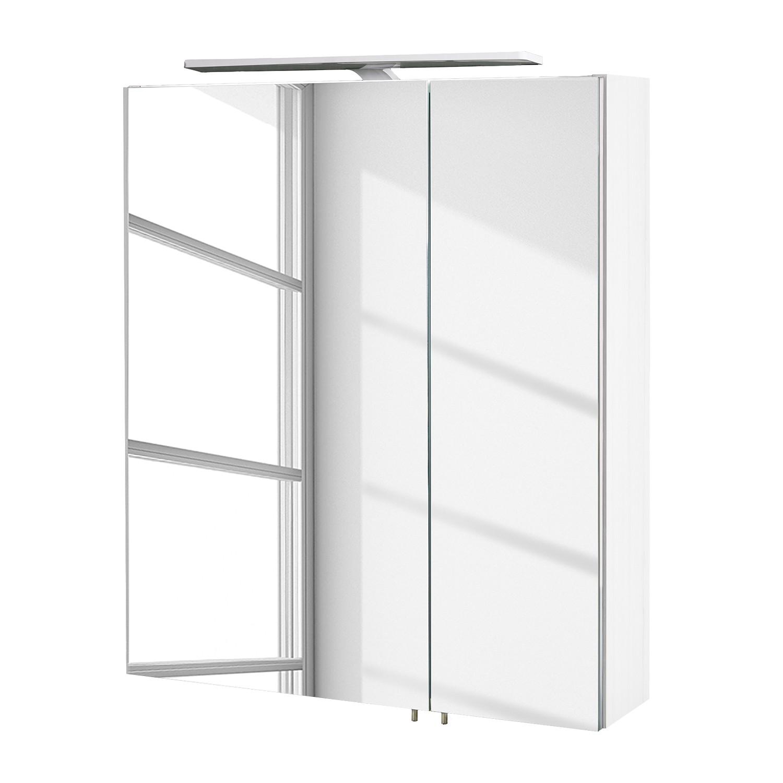 Armoire à miroir Genf III avec éclairage